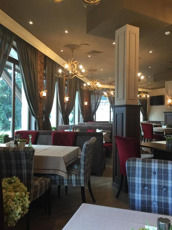 Интериор ресторант Boulevard